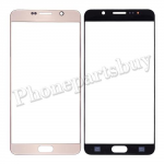 Front Screen Glass Lens for Samsung Galaxy Note 5 N920/ N920F/ N920A/ N920V/ N920P/ N920T/ N920R4/ N920W8(for SAMSUNG)(High Quality) - Gold PH-TOU-SS-00136GDA