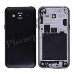 Back Cover Battery Door with Camera Lens for Samsung Galaxy J5 J500/ J500F(for SAMSUNG) - Black PH-HO-SS-00187BK