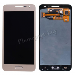 LCD Screen Display with Digitizer Touch Panel and  Home Button for Samsung Galaxy A3 A300/ A300X/ A300F(for SAMSUNG)- Champagne Gold PH-LCD-SS-00136GD
