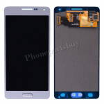 LCD Screen Display with Digitizer Touch Panel and  Home Button for Samsung Galaxy A3 A300/ A300X/ A300F(for SAMSUNG) - Platinum Silver PH-LCD-SS-00136SL