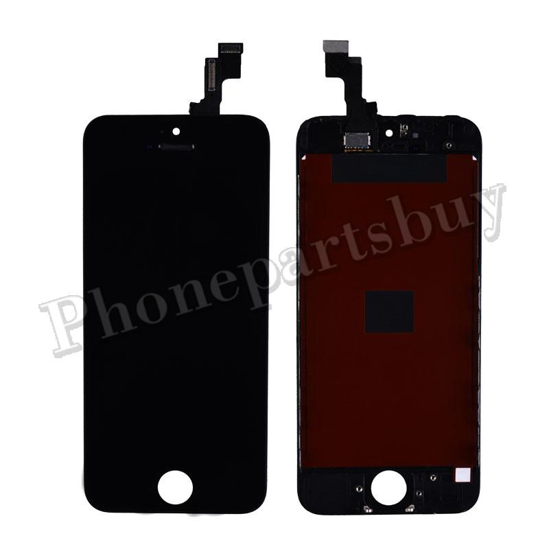 LCD Assembly for iPhone 5S/iPhone SE(Aftermarket) Black