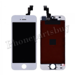 LCD Screen Display with Touch Digitizer and Frame for iPhone 5S(for Silver/Gold) (Aftermarket)- White PH-LCD-IP-00039WHB