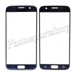 Front Screen Glass Lens for Samsung Galaxy S7 G930/ G930F/ G930A/ G930V/ G930P/ G930T/ G930R4/ G930W8(Super High Quality) (for SAMSUNG) - Black PH-TOU-SS-00141BK
