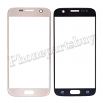 Front Screen Glass Lens for Samsung Galaxy S7 G930/ G930F/ G930A/ G930V/ G930P/ G930T/ G930R4/ G930W8 (Super High Quality)(for SAMSUNG) - Gold PH-TOU-SS-00141GD