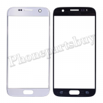 Front Screen Glass Lens for Samsung Galaxy S7 G930/ G930F/ G930A/ G930V/ G930P/ G930T/ G930R4/ G930W8 (for SAMSUNG)(Super High Quality) - Silver PH-TOU-SS-00141SL