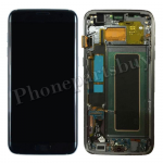 LCD Screen Display with Digitizer Touch Panel and Bezel Frame for Samsung Galaxy S7 Edge G935F(OEM) - Black PH-LCD-SS-00190BK