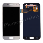LCD Screen Display with Digitizer Touch Panel for Samsung Galaxy S7 G930/ G930F/ G930A/ G930V/ G930P/ G930T/ G930R4/ G930W8 (OEM) - Silver PH-LCD-SS-00187SL