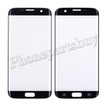 Front Screen Glass Lens for Samsung Galaxy S7 Edge G935/ G935F/ G935A/ G935V/ G935P/ G935T/ G935R4/ G935W8(for SAMSUNG)(Super High Quality) - Black PH-TOU-SS-00145BKA