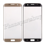 Front Screen Glass Lens for Samsung Galaxy S7 Edge G935/ G935F/ G935A/ G935V/ G935P/ G935T/ G935R4/ G935W8(for SAMSUNG)(Super High Quality) - Gold PH-TOU-SS-00145GDA