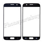 Front Screen Glass Lens for Samsung Galaxy S7 G930/ G930F/ G930A/ G930V/ G930P/ G930T/ G930R4/ G930W8 (for SAMSUNG) - Black PH-TOU-SS-00141BKB
