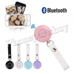 Mini Wireless Bluetooth Remote Selfie Control Shutter for iPhone/ Samsung/ HTC/ MOTO/ LG/ Mobile Phone - Pink MT-EI-UN-00287PK