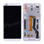 LCD Screen Display with Digitizer Touch Panel and Bezel Frame for HTC Desire 626(for HTC)- White PH-LCD-HT-00089WH