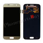 LCD Screen Display with Digitizer Touch Panel for Samsung Galaxy S7 G930/ G930F/ G930A/ G930V/ G930P/ G930T/ G930R4/ G930W8 (OEM) - Gold PH-LCD-SS-00187GD