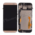 LCD with Touch Screen Digitizer and Bezel Frame for HTC One M8(for HTC) - Gold PH-LCD-HT-00057GD