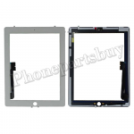 Touch Screen Digitizer with Home Button Assembly for The New iPad 4-White PH-TOU-IP-00013WH