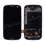 LCD Screen Display with Digitizer Touch Panel and Bezel Frame for Samsung Galaxy S3 i9305(for SAMSUNG) - Black PH-LCD-SS-00180BK
