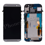 LCD with Touch Screen Digitizer and Bezel Frame for HTC One M8(for HTC)-Black PH-LCD-HT-00057BK