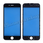 Front Screen Glass Lens with LCD Digitizer Frame for iPhone 6(4.7 inches) - Black PH-TOU-IP-00037BK