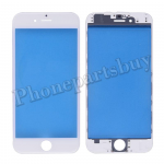 Front Screen Glass Lens with LCD Digitizer Frame for iPhone 6(4.7 inches) - White PH-TOU-IP-00037WH