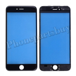 Front Screen Glass Lens with LCD Digitizer Frame for iPhone 6 Plus(5.5 inches) - Black PH-TOU-IP-00038BK