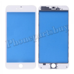 Front Screen Glass Lens with LCD Digitizer Frame for iPhone 6 Plus(5.5 inches) - White PH-TOU-IP-00038WH