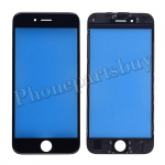 Front Screen Glass Lens with LCD Digitizer Frame for iPhone 6S(4.7 inches) - Black PH-TOU-IP-00039BK