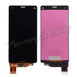 LCD with Touch Screen Digitizer for Sony Z3 mini/ Z3 Compact D5803/ D5833(for SONY) - Black PH-LCD-SE-00044BK
