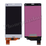 LCD with Touch Screen Digitizer for Sony Z3 mini/ Z3 Compact D5803/ D5833(for SONY) - White PH-LCD-SE-00044WH