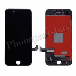 LCD Screen Display with Touch Digitizer Panel and Frame for iPhone 7(4.7 inches) (Refurbished)- Black PH-LCD-IP-00071BKA