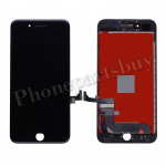 LCD Screen Display with Touch Digitizer Panel and Frame for iPhone 7 Plus(5.5 inches) (Refurbished) - Black PH-LCD-IP-00072BKA