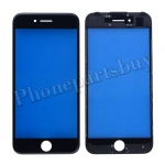 Front Screen Glass Lens with LCD Digitizer Frame for iPhone 7(4.7 inches) - Black PH-TOU-IP-00043BK