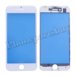 Front Screen Glass Lens with LCD Digitizer Frame for iPhone 7(4.7 inches) - White PH-TOU-IP-00043WH
