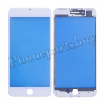 Front Screen Glass Lens with LCD Digitizer Frame for iPhone 7 Plus(5.5 inches) - White PH-TOU-IP-00044WH