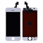 LCD Screen Display with Touch Digitizer Assembly and Frame for iPhone 5S/SE(Aftermarket) - White PH-LCD-IP-00039WHE