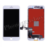 LCD Screen Display with Touch Digitizer Panel and Frame for iPhone 7 Plus(5.5 inches)(Aftermarket) - White PH-LCD-IP-00072WH