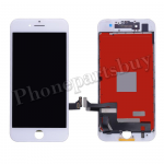 LCD Screen Display with Touch Digitizer Panel and Frame for iPhone 7(4.7 inches)(Aftermarket) - White PH-LCD-IP-00071WH