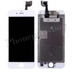 Complete LCD Screen Display with Touch Digitizer Panel and Frame,Front Camera,Earpiece Speaker & Proximity Sensor Flex Cable for iPhone 6S(4.7 inches) - White PH-LCD-IP-00067WH