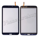 Touch Screen Digitizer with Flex Cable for Samsung Galaxy Tab 3 8.0 T310(for SAMSUNG)(WiFi Version)-Black PH-TOU-SS-00099BK