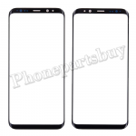 Front Screen Glass Lens for Samsung Galaxy S8 Plus G955 - Black PH-TOU-SS-00150BK