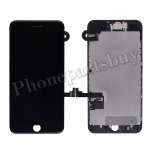Complete LCD Screen Display with Touch Digitizer Panel and Frame,Front Camera,Earpiece Speaker & Proximity Sensor Flex Cable for iPhone 7 Plus(5.5 inches) - Black PH-LCD-IP-00073BK