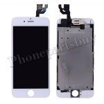 Complete LCD with Touch Screen Digitizer, Frame and Front Camera for iPhone 6(4.7 inches)(Super High Quality)-White PH-LCD-IP-00060WHA