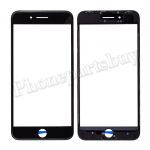 Front Screen Glass Lens with LCD Digitizer Frame for iPhone 8 Plus (5.5 inches) - Black PH-TOU-IP-00049BK