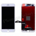 LCD Screen Display with Touch Digitizer Panel and Frame for iPhone 8 Plus (5.5 inches)(Aftermarket)- White PH-LCD-IP-00077WH