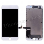 LCD Screen Display with Touch Digitizer Panel and Frame for iPhone 8 Plus (5.5 inches)( High Quality) - White PH-LCD-IP-00077WHA