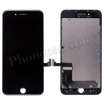 LCD Screen Display with Touch Digitizer Panel and Frame for iPhone 8 Plus (5.5 inches) (FOG) - Black PH-LCD-IP-00077BKA