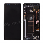 LCD Screen Display with Digitizer Touch Panel and Frame for Samsung Galaxy Note 8 N950F (Black Frame)(OEM) - Black PH-LCD-SS-00221BKBK
