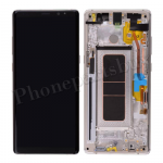 LCD Screen Display with Digitizer Touch Panel and Frame for Samsung Galaxy Note 8 N950F (Gold Frame) (OEM)- Black PH-LCD-SS-00221BKGD