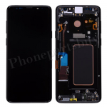 LCD Screen Display with Digitizer Touch Panel and Bezel Frame for Samsung Galaxy S9 Plus G965(Black Frame) - Black PH-LCD-SS-00229BKBK