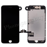 Complete LCD Screen Display with Touch Digitizer Panel and Frame,Front Camera,Earpiece Speaker & Proximity Sensor Flex Cable for iPhone 8(4.7 inches) (Generic Plus) - Black PH-LCD-IP-00087BKP