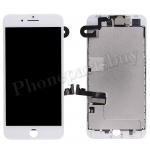 Complete LCD Screen Display with Touch Digitizer Panel and Frame,Front Camera,Earpiece Speaker & Proximity Sensor Flex Cable for iPhone 8 Plus (5.5 inches) (Generic Plus) - White PH-LCD-IP-00088WHP